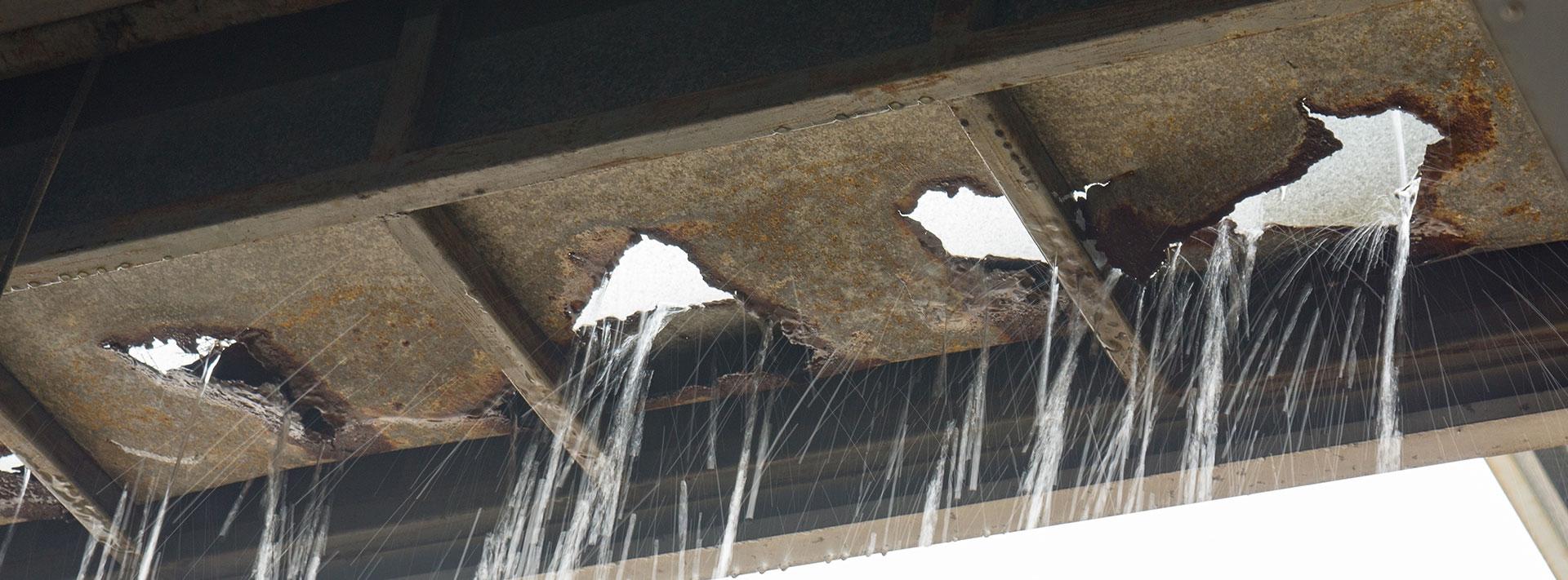 Building leak repair - If it leaks, we can fix it!