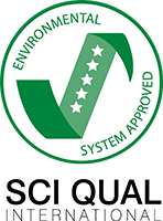 SCI QUAL International Environmental System Approved