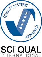 SCI QUAL International Quality Systems Approved