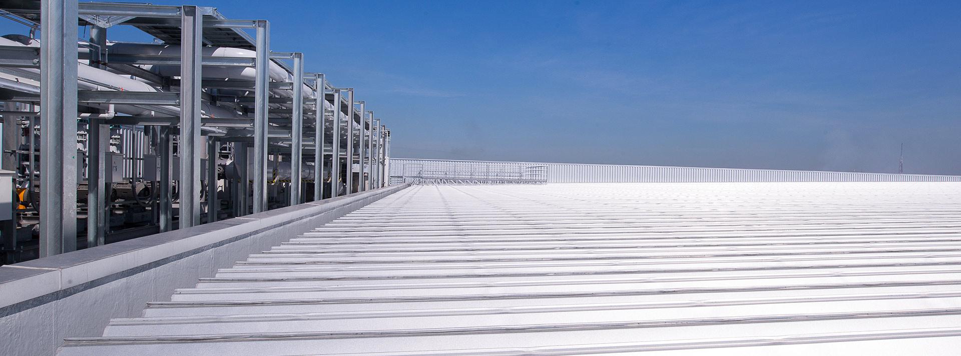 Metal Roof Repair & Maintenance by Roof & Building Service